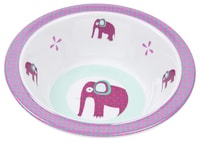 Bowl with Silicone Wildlife elephant