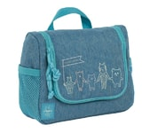 Lässig Mini Washbag About Friends mélange blue
