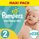 Pampers New Baby Monthy Box 3x(S2 76ks)