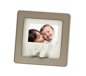 Baby Art Photo Sculpture Frame Taupe