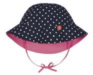 Lässig Reversible Bucket Hat Girls polka dots 24-36m