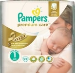 Pampers Premium Value Pack S1 88ks