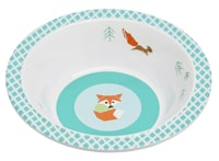 Bowl with Silicone little tree fox