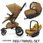 Concord Travel Set Neo Air + Sleeper limitovaná edice Sweet Curry