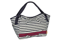 Lässig Casual Twin Bag Striped zigzag navy