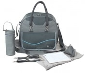 TAŠKA B-CITY NURSERY BAG - GREY