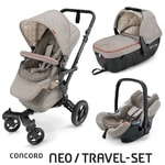 Concord Travel Set Neo Air + Sleeper Cool Beige