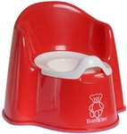 BABYBJORN Nočník křesílko Potty Chair Red