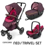 Concord Travel Set Neo Air + Sleeper Rose Pink