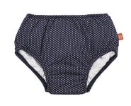 Lässig Swim Diaper Girls polka dots navy 06 mo.