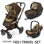 Concord Travel Set Neo Air + Sleeper Walnut Brown