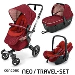 Concord Travel Set Neo Air + Sleeper Tomato Red