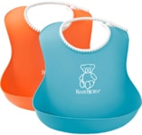 BABYBJORN Bryndák měkký Soft Orange/Turquoise set 2 ks