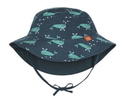Lässig Reversible Bucket Hat Boys blue whale 24-36m