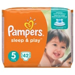 Pampers Sleep & Play Value Pack S5 42ks