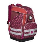 School Bag Dottie red