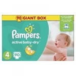 Pampers Active Baby Giant Box S4 90ks