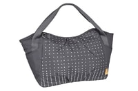 Lässig Casual Twin Bag Dotted lines ebony