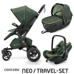 Concord Travel Set Neo Air + Sleeper limitovaná edice Jungle Green