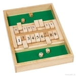 Stolní hra – Shut the box