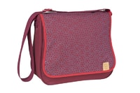 Lässig Basic Messenger Bag Mosaic rumba red