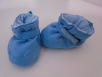 Bazar Wallaboo  Shoes (soft blue 6-12m)