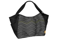 Lässig Casual Twin Bag Zigzag black white