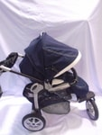 Bazar Peg Perego GT3 Completo 2016 (LUNA - Navy Blue & White Eco Leather Accents)
