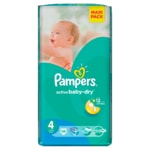 Pampers jedn. plenky Active Baby VPP Maxi 58ks