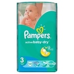 Pampers jedn. plenky ActBaby VP MD 58