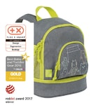 Lässig Mini Backpack About Friends mélange grey