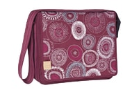 Lässig Casual Messenger Bag Fossil rumba red