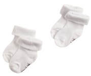 Noppies Socks (2 pairs) Beef  nov.ponožky - White