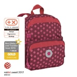 Mini Backpack Dottie red