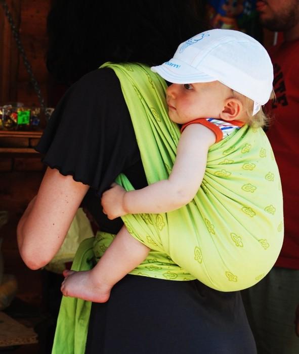 939ce922e0d Storchenwiege Šátek na nošení dětí BIO - Storchenwiege - Klokanky a ...