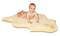 Heitmann Felle Baby kožešinové podložky - střižená 30mm 90-100 cm