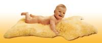 Heitmann Felle Baby kožešinové podložky - nestřižená 50mm 95-105cm