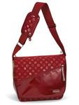 Allerhand Monogram Collection MONO Messenger Bag Medium - Red Royal