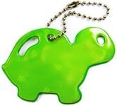 Glimmis Reflexní přívěsky - želva zelená
