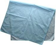 Modrá přebalovací podložka 50 x 80 cm