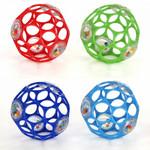 Bright Starts Hračka/chrastítko OBALL RATTLE 10 cm, 0m+ - růžová