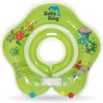 Baby Ring kruh kolem krku pro koupání miminek - 0-24 měs. zelená