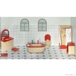 Nábytek pro panenky – koupelna, 7 dílů