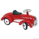 Odrážedlo – odstrkovadlo Červené auto s gumovými koly