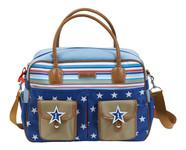 Bébé Jou Luxusní přebalovací taška - 1-2-3 modrá