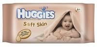 Huggies Soft Skin Vlhčené ubrousky s bambuckým máslem