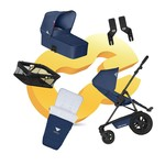 Koelstra Binque Daily Pack 2014 - Navy blue