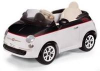Peg Perego FIAT 500 12V bílo-černý NOVINKA