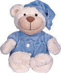 Bayer Medvěd Bear good night - blau