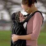 Koo-di Baby Carrier Snug Cover pláštěnka na nosítko - Black